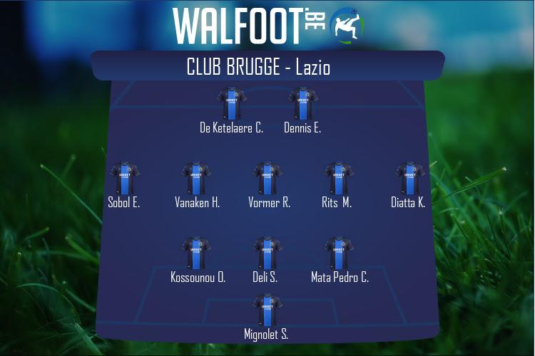 FC Bruges (FC Bruges - Lazio)