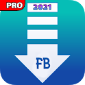 PRO Video downloader for Facebook-FB video saver icon