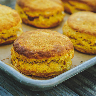 Sweet Potato Buttermilk Biscuits