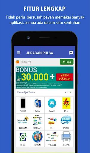 Juragan Pulsa - PPOB Online 1.0 screenshots 5