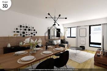 Appartement 2 pièces 47,54 m2