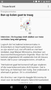 Trouw digitale krant screenshot 2