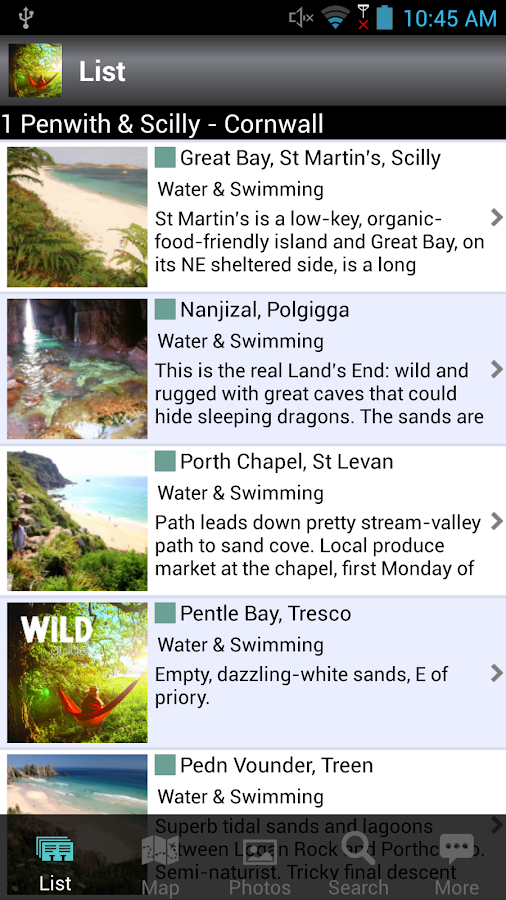 Wild Guide South West- screenshot