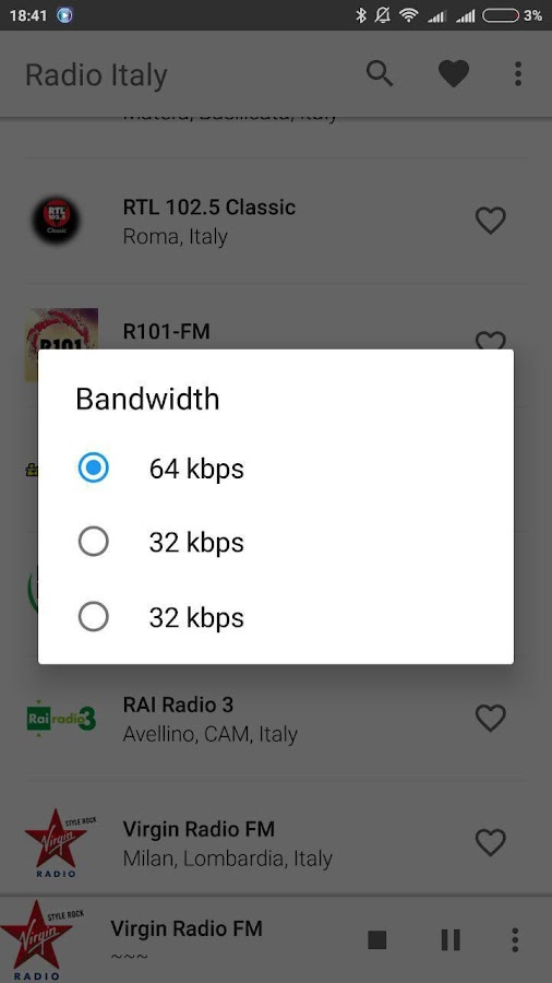 Radio Italy- screenshot