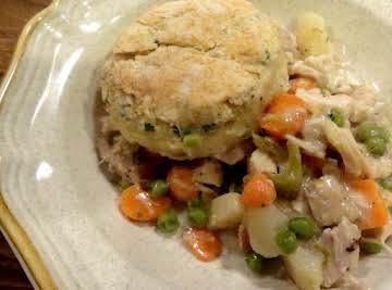 Chicken Pot Pie in a Skillet -- Bonnie's
