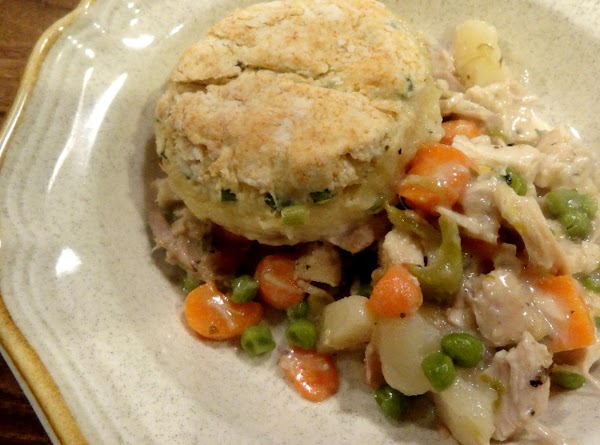 Chicken Pot Pie In A Skillet -- Bonnie's Recipe