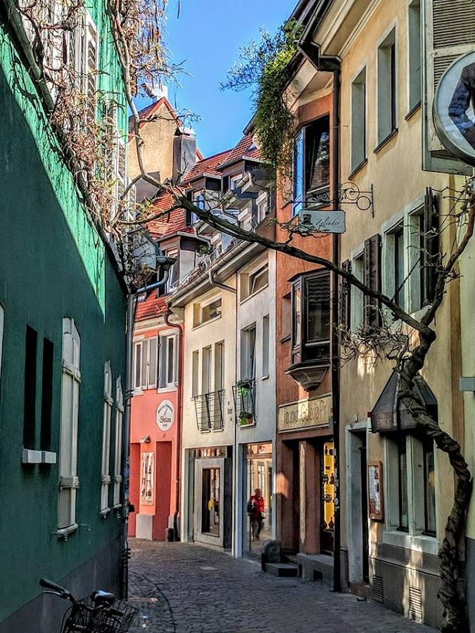 Alley way by Stephen Lang - City,  Street & Park  Street Scenes
