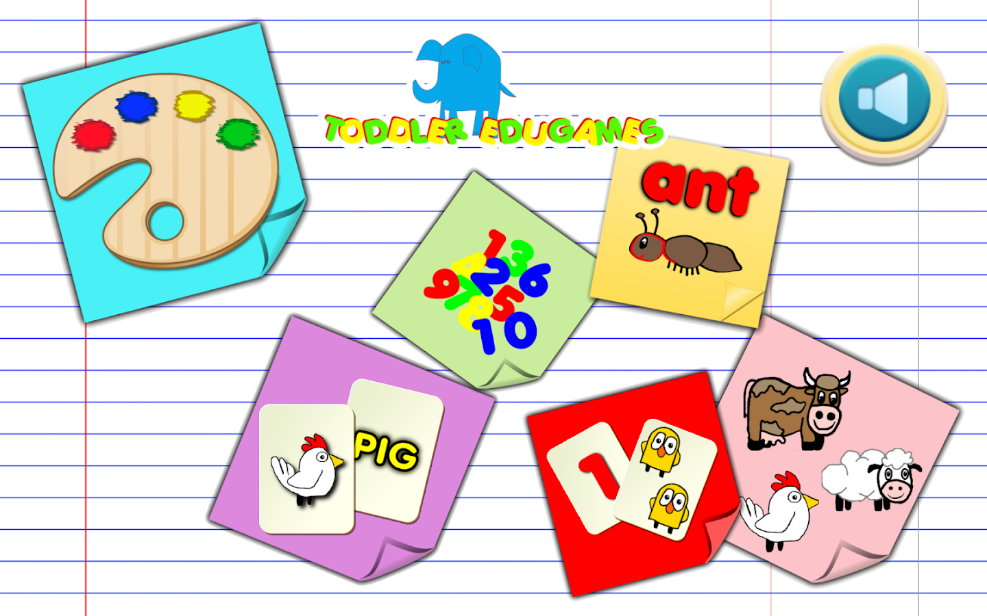 Toddler EduGames - Colors- screenshot