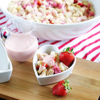 Sweet Strawberry Pasta Salad