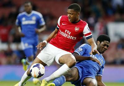 Un arbitre blessé en plein match par un jeune d'Arsenal