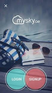 mysky.ae screenshot