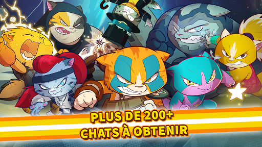 Code Triche Tap Cats: Epic Card Battle (CCG) APK MOD (Astuce) screenshots 2