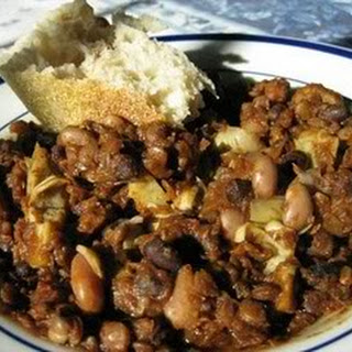 Slow Cooker Italian Bean Soup.