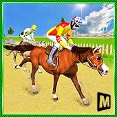Derby Action Horse Race