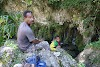 Indonesia. Papua Baliem Valley Trekking. Our guide Martinus, who left us after 2 days