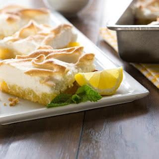 Lemon Meringue Bars with a Shortbread Crust