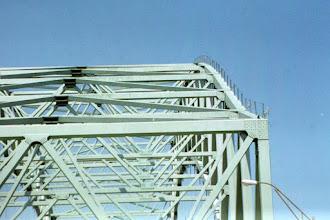 Photo: Top of the Hernando de Soto Bridge