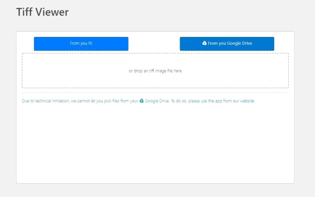 TIFF Viewer for Google Chrome™
