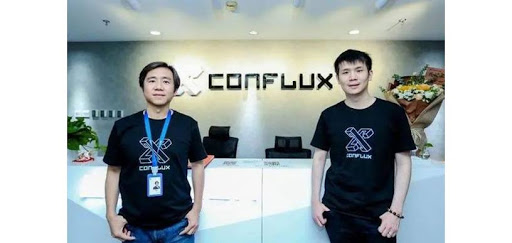 Two of the Conflux cofounders Ming Wu and Fan Long
