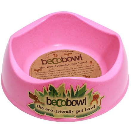 Beco Matskål Rosa från Växtfiber 17cm