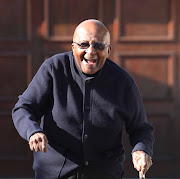 Archbishop Emeritus Desmond Tutu cast his vote at his residents in Milnerton, Cape Town.