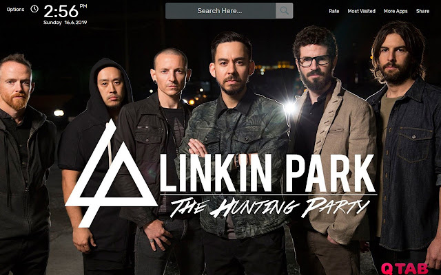 Linkin Park Wallpapers New Tab Theme