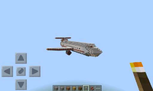 Airplane Mod For Minecraft Pe
