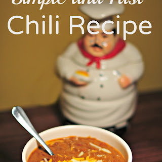 Simple and Fast Chili