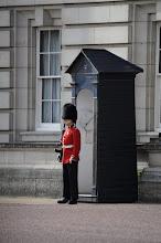 Photo: Standing guard at Buckingham Palace