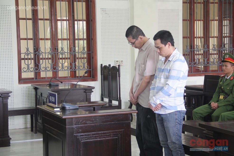2 bị cáo Dư Đức Minh và Thái Lập Trung