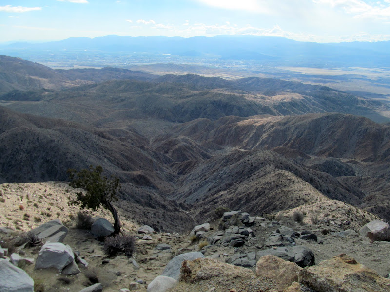 Photo: Keys View, looking over Coachella Valley