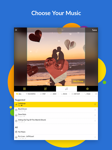 MoShow - Slideshow Maker, Photo & Video Editor 2.5.0.0 screenshots 8