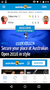 Australian Open Tennis 2016 Screenshot 2