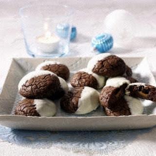 Cookies mit Karamellkern