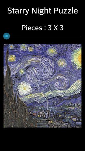 Jigsaw Puzzle: Starry Night