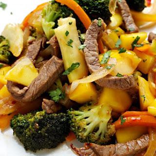 Beef, Broccoli and Mango Stir-Fry Recipe