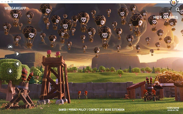 Clash Of Clans Hd Wallpapers Tab Theme