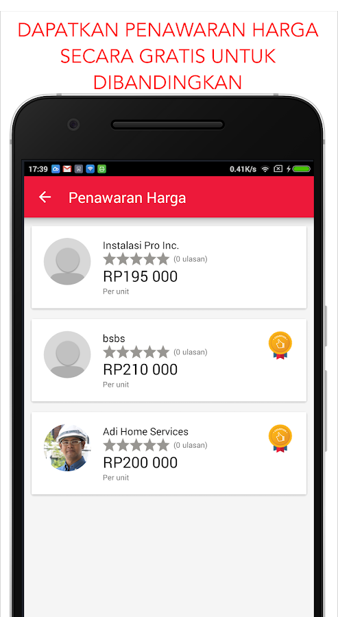 Beres - Sewa Layanan- screenshot