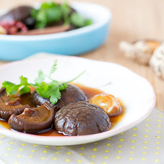 Braised Shiitake Mushrooms