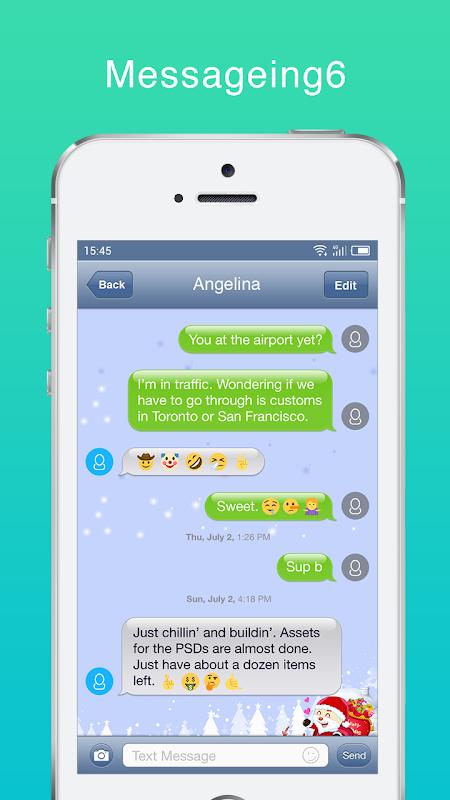 Messaging+ SMS, MMS Free screenshots