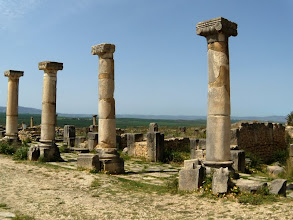 Photo: Volubilis - Decumanus