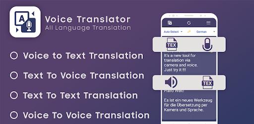 Voice translator all language universal translator - Apps on