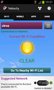 App WiFi | Mobile Network Speed APK for Windows Phone