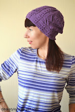Photo: Виолетта-женская вязаная шапка-носок