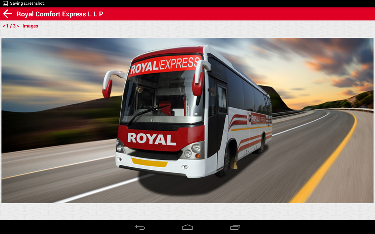 Royal Comfort Express LLP- screenshot