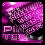 Pink Tech Keyboard Icon