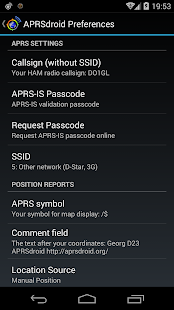 APRSdroid - APRS Client - screenshot thumbnail