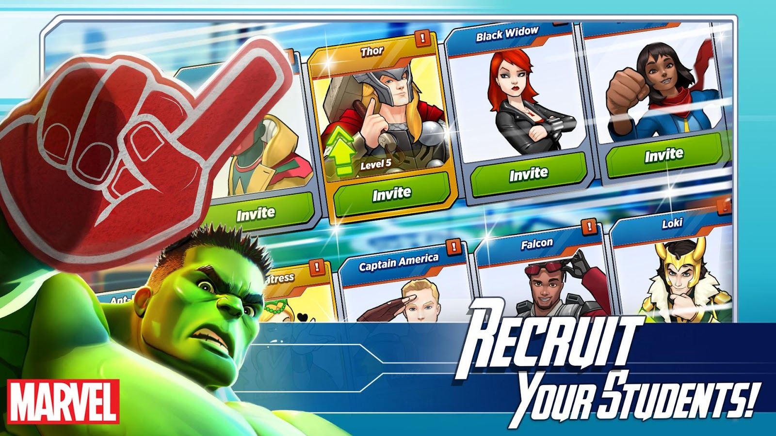 Screenshots of MARVEL Avengers Academy for iPhone