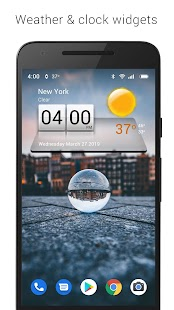 3D Sense Clock & Weather Screenshot