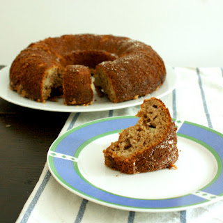 Healthy Pennsylvania Dutch Apple Muffin Cake.